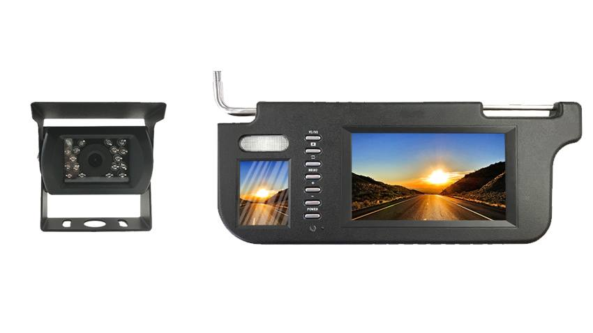 Backup Camera with a Visor