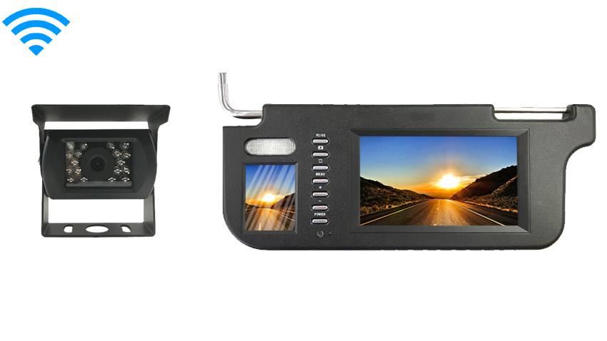 Wireless RV Backup Camera with Visor Monitor