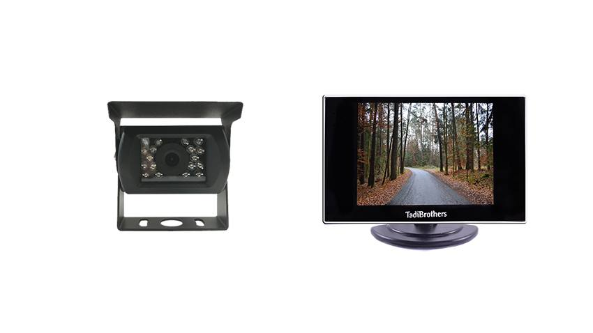 Backup camera with Smaller Monitor