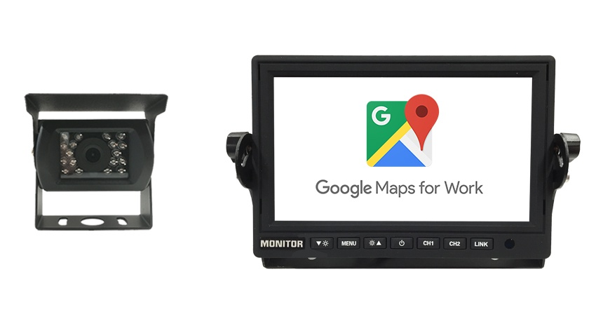 Wi-Fi Monitor and RV Backup Camera featuring mobile phone mirroring