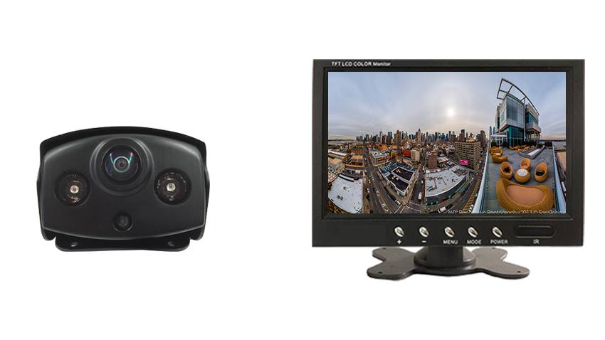 180 Degree Panoramic Backup Camera | 7 Inch Monitor | TadiBrothers