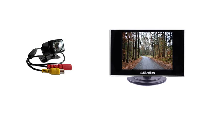 Affordable backup camera system