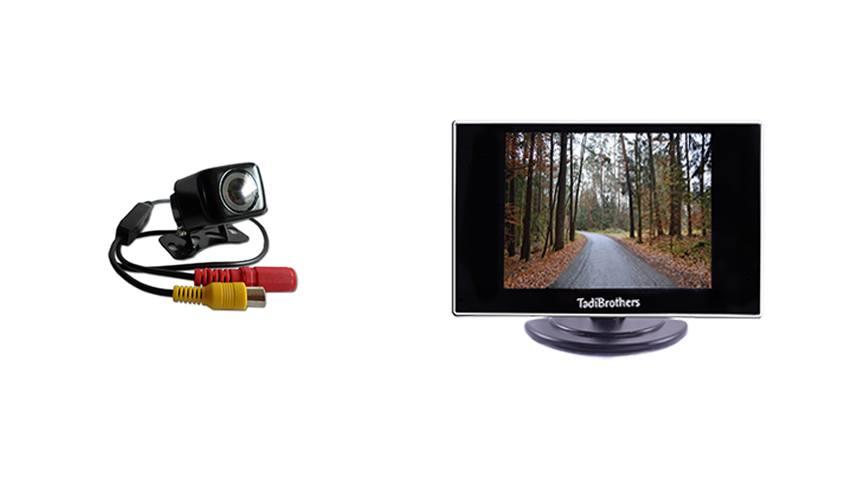 Affordable backup camera system