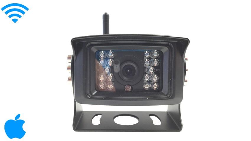 iPhone Wifi CCD Backup Camera for RV, Truck, Long Vehicle   SKU 50825