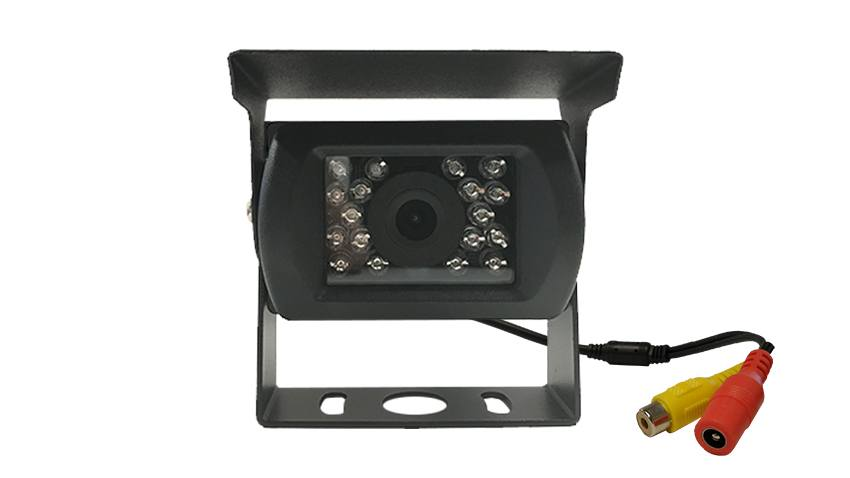 The 120 degree front-facing RV box camera is perfect for large vehicles needing cameras in all directions.