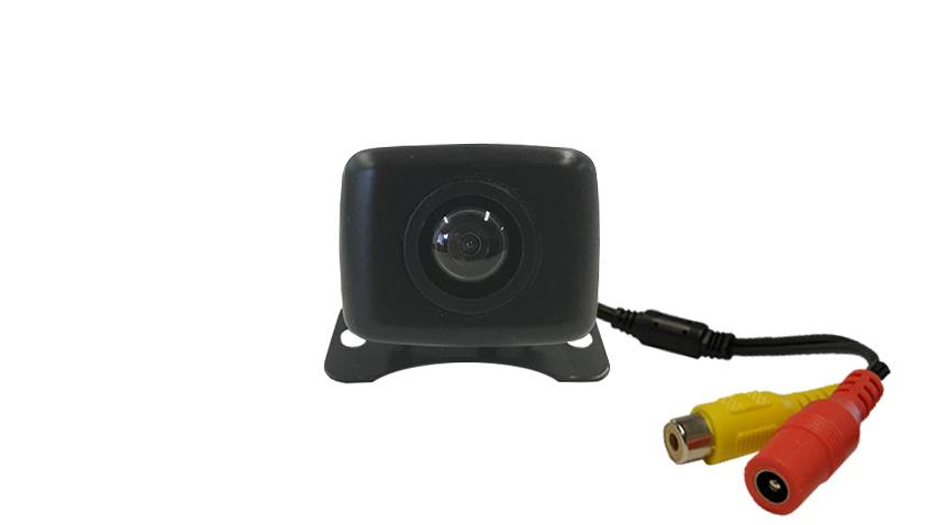 Ice cube backup camera includes adjustable mounting bracket,