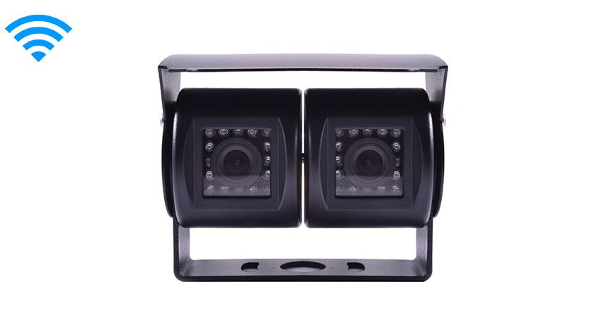 2 Backup Cameras 2 cameras attached to one base