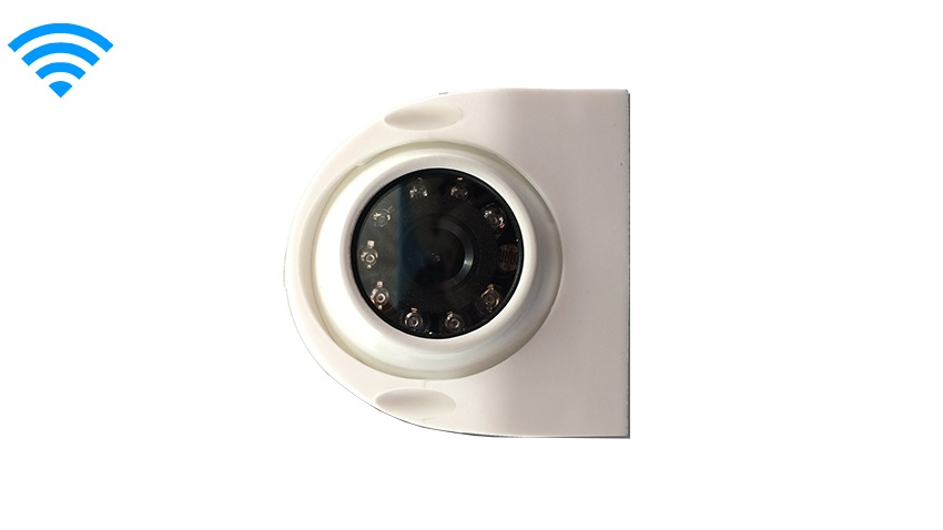 White Premium Wireless Side RV Camera | SKU15156