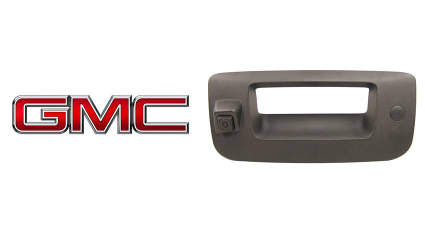 OEM Aftermarket GMC Sierra Tailgate Rear View Camera