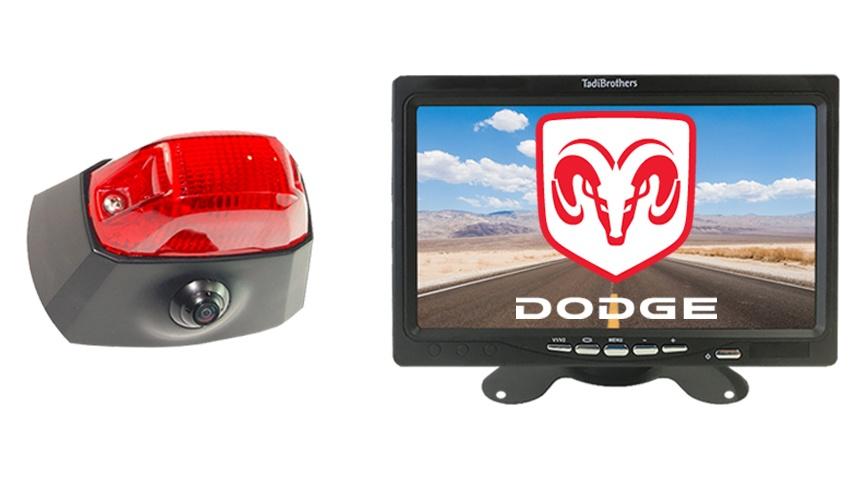 Dodge Promaster Van 3rd Brake Light Backup Camera System