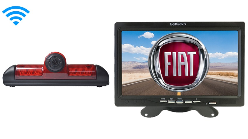 Fiat Ducato Third Brake Light Wireless Backup Camera (Birds Eye View) | SKU24400