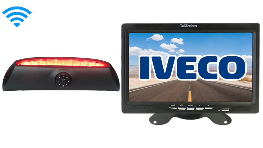 Wireless 3rd Brake Light Backup Camera | Iveco Daily Van | SKU81077
