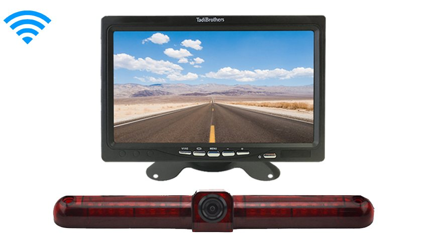 Universal Wireless 3rd Brake Light Backup Camera System|SKU17886