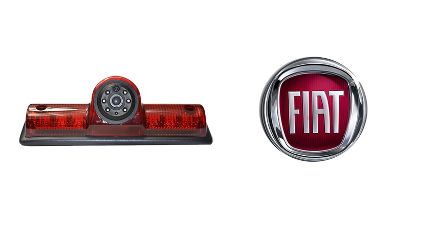 The Fiat Ducato backup camera is designed to replace the existing brake light housing with an integrated CCD backup camera.