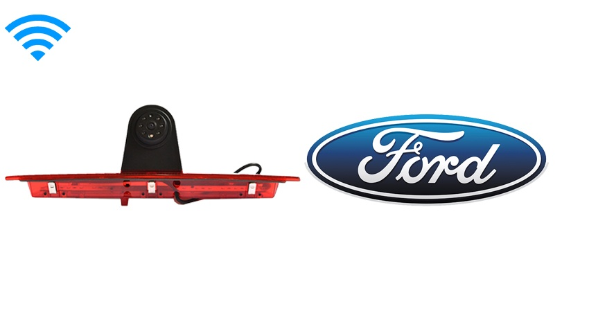 Ford Transit Third Brake Light Wireless Backup Camera (Birds Eye View) | SKU18328