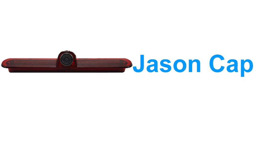 The Jason Cap backup camera is designed to replace the existing brake light housing with an integrated CCD backup camera.