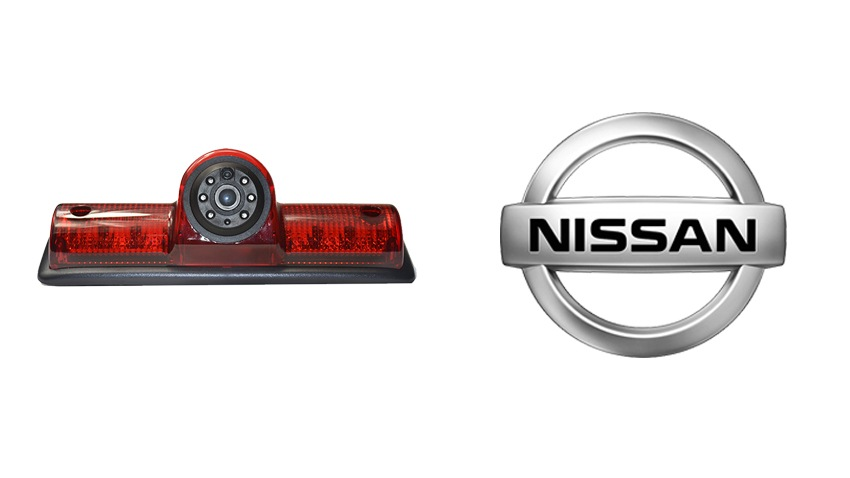 Nissan NV third brake light backup camera