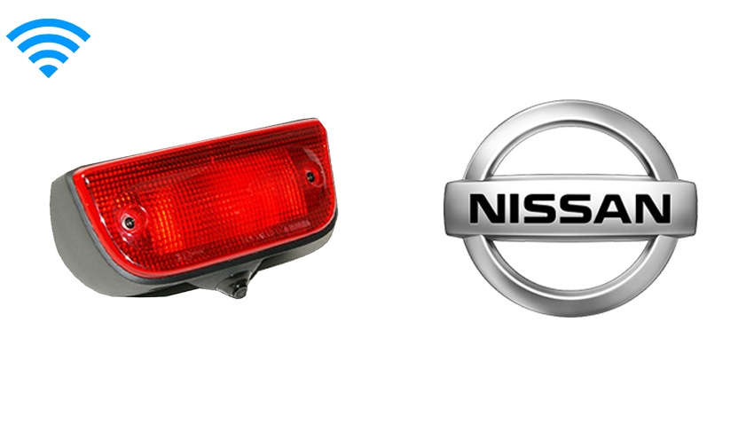 Nissan NV200 Third Brake Light Wireless Backup Camera (Birds Eye View) | SKU33908