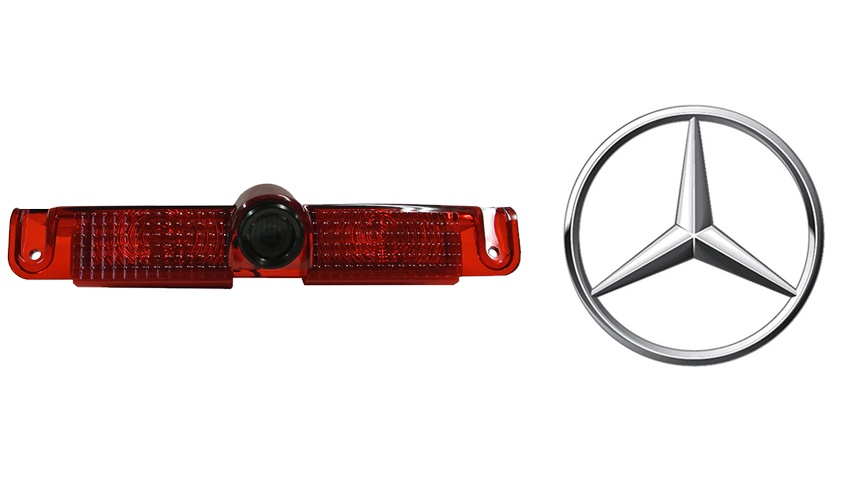 Mercedes Sprinter 3rd brake light backup camera