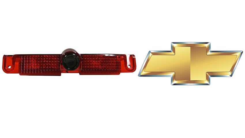 The Chevrolet Van 3rd brake light backup camera is a full replacement light housing with integrated camera.