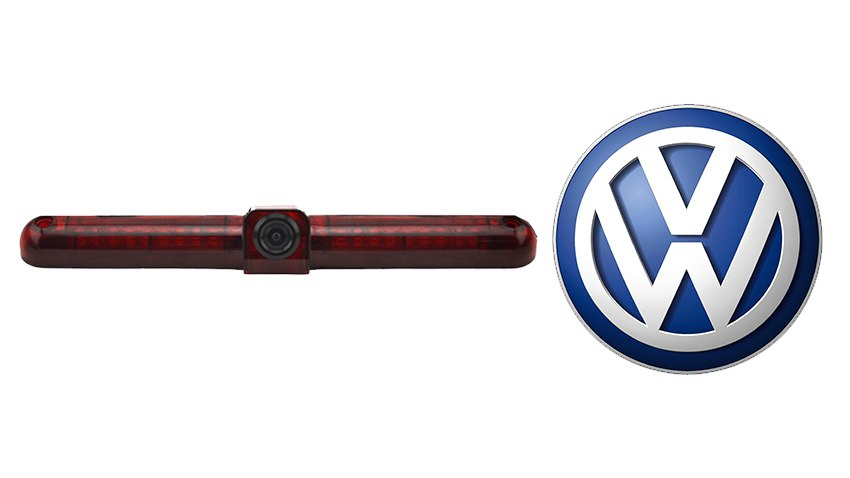 The VW Caddy backup camera is designed to replace the existing brake light housing with an integrated CCD backup camera.