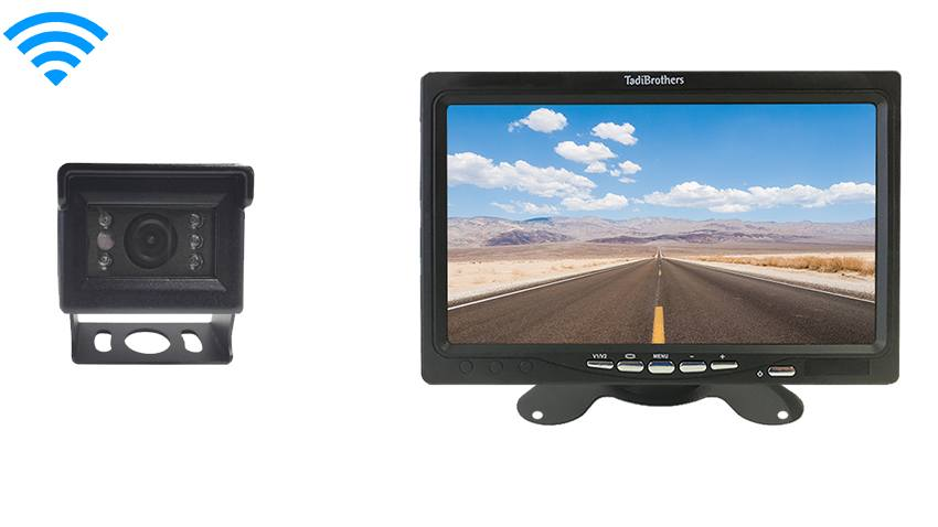 Wireless Mini RV Backup Camera system compatible with Furrion Housing