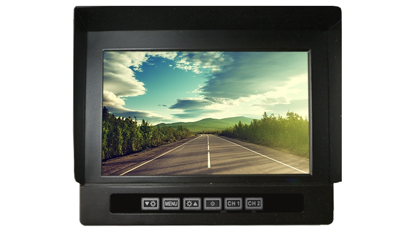 7-Inch Heavy Duty LCD Monitor for any Backup Camera | SKU186899