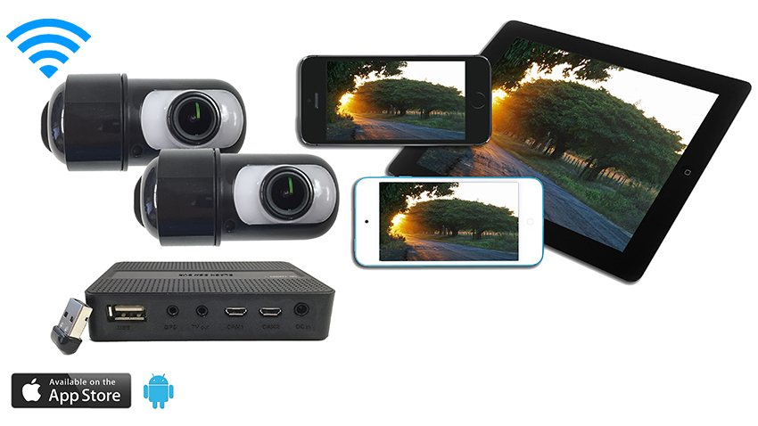 2 Dash Cam system with app SKU32467