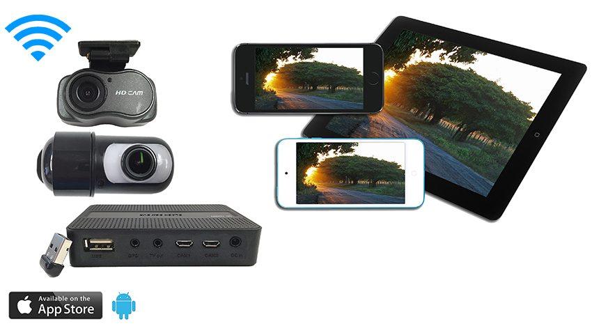 SKU61146 Dash Camera with 2 cameras