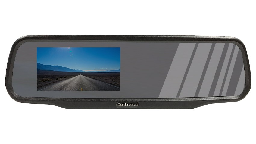 backup camera mirror monitor
