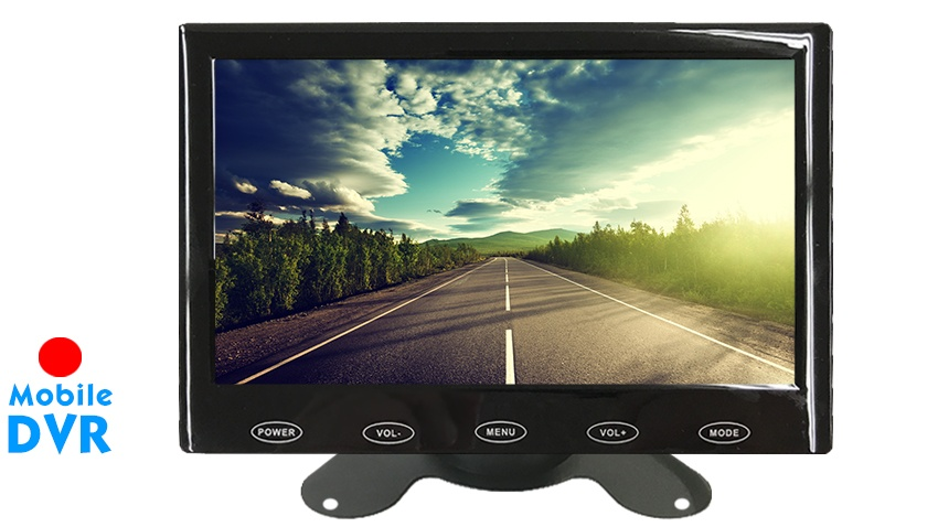 7-Inch LCD Monitor with Built in DVR for any Backup Camera | SKU24123