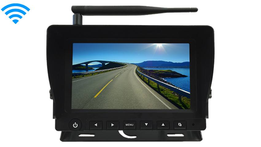9-Inch LCD Monitor for any Built In Digital Wireless Backup Camera [Commercial Grade] | SKU13410