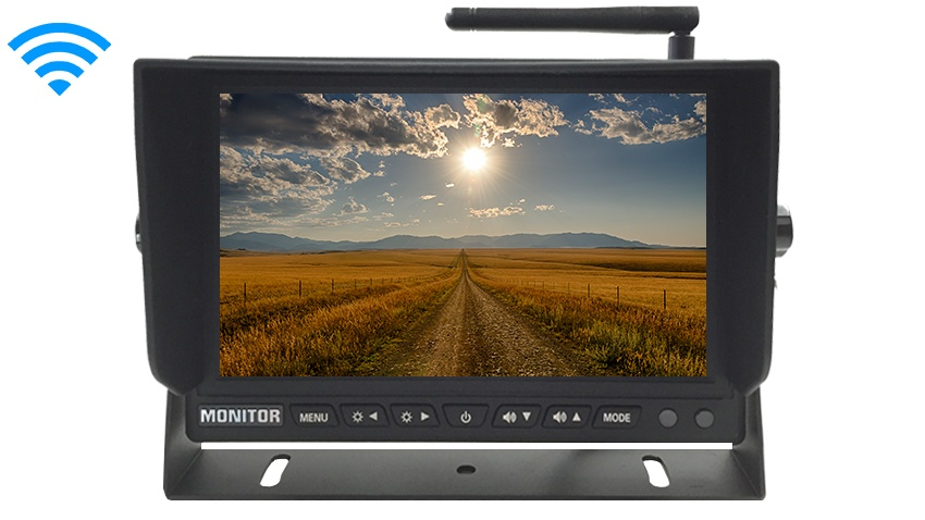 7-Inch LCD Monitor for Our Built In Digital Wireless Backup Cameras | SKU84965