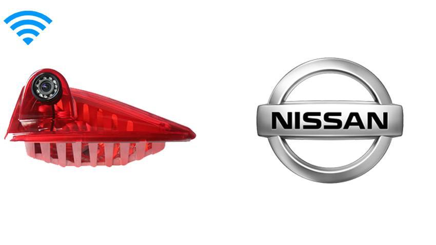 Nissan NV 400 Renault Master Opel Third Brake Light Wireless Backup Camera (70ft Range and Birds Eye View) | SKU18450