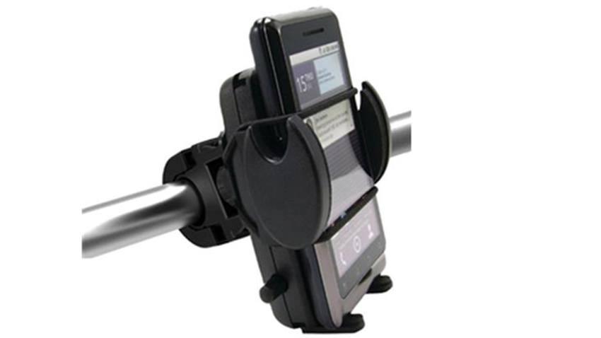 Motorcycle Handlebar cell phone Mount