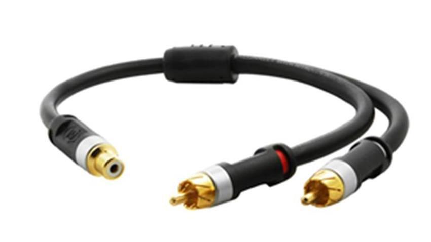 RCA Y connector