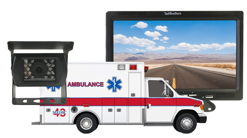 Ambulance Backup Camera System