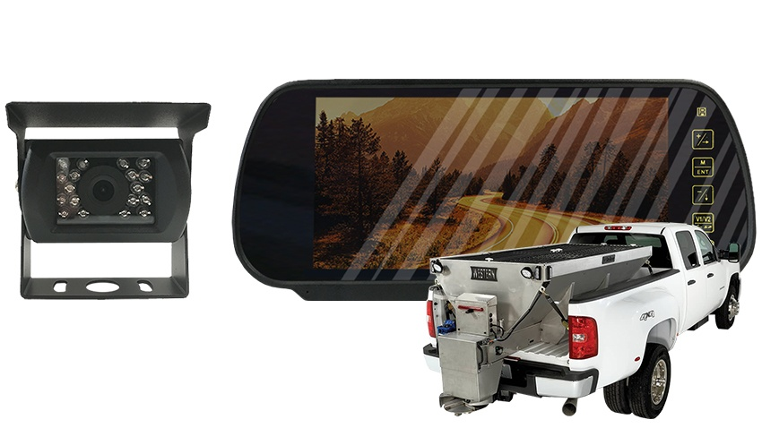 Commercial Salt Spreader Backup Camera System | SKU75955