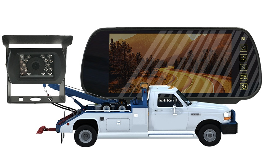 Truck Backup Camera >> Tow Truck Backup Camera System