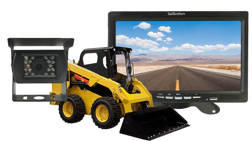 Skid Steer Loader backup Camera System