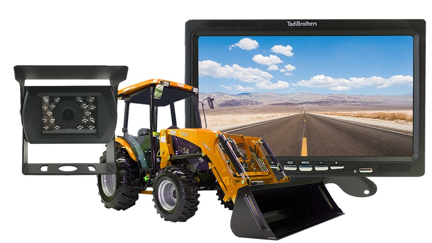 Backup Camera System For Tractors