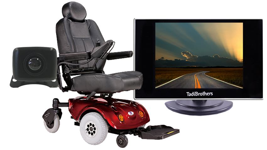 Portable Wheelchair Rearview Camera System | SKU119941