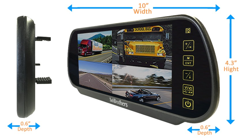 Wireless Rv Backup Camera System With Dual Rear Camera 2