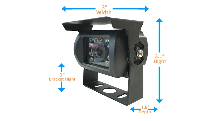 rv backup camera with rear view monitor. Black Bedroom Furniture Sets. Home Design Ideas