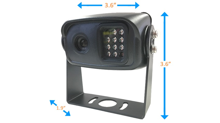Digital Wireless Rv Backup Camera With Rear View Mirror