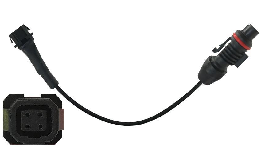 Voyager Square Pin to Round Pin Backup Camera Adapter