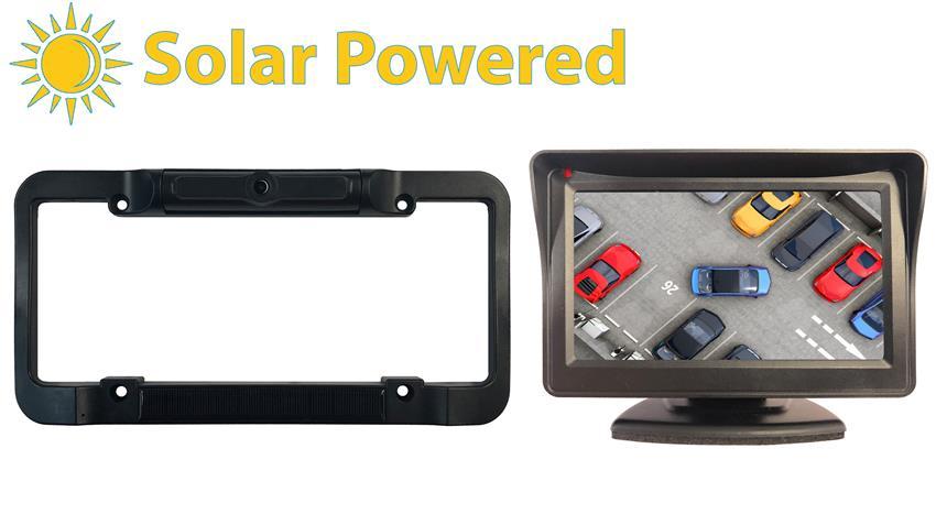 Solar Power Backup Camera