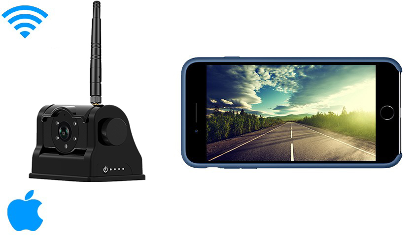 Apple IOS Wifi Magnet Hitch Camera system