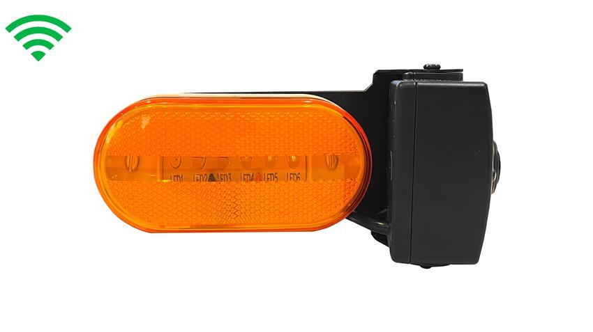 Furrion ® Compatible side camera snaps into marker light spot