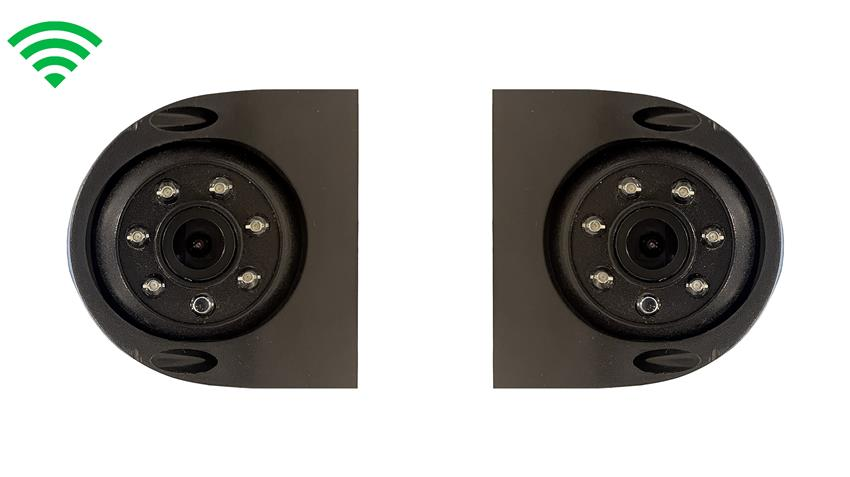 Digital Wireless Side Camera with Automatic Night Vision